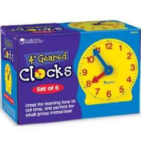 Geared Mini-Clock Set