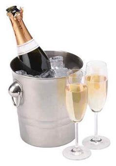 Bar Craft Stainless Steel Champagne Bucket